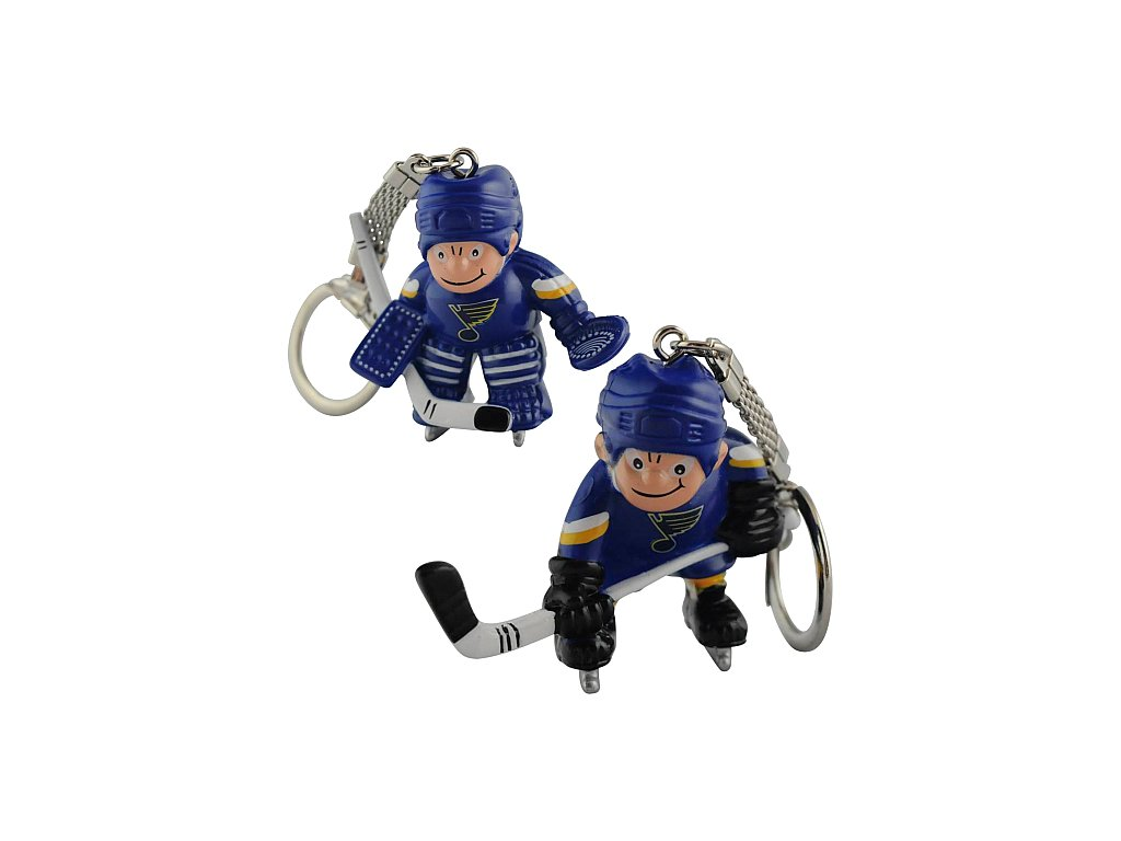 Přívěšek - Mini Players - St. Louis Blues - 2 kusy