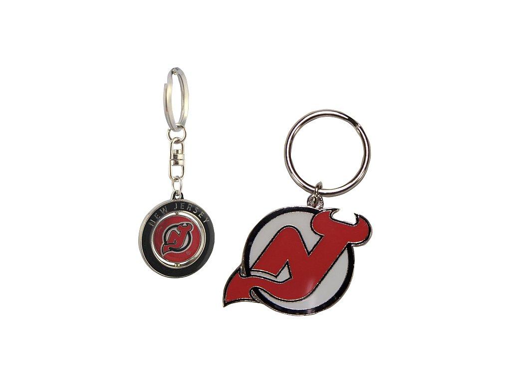 Přívěšek - New Jersey Devils - 2 kusy