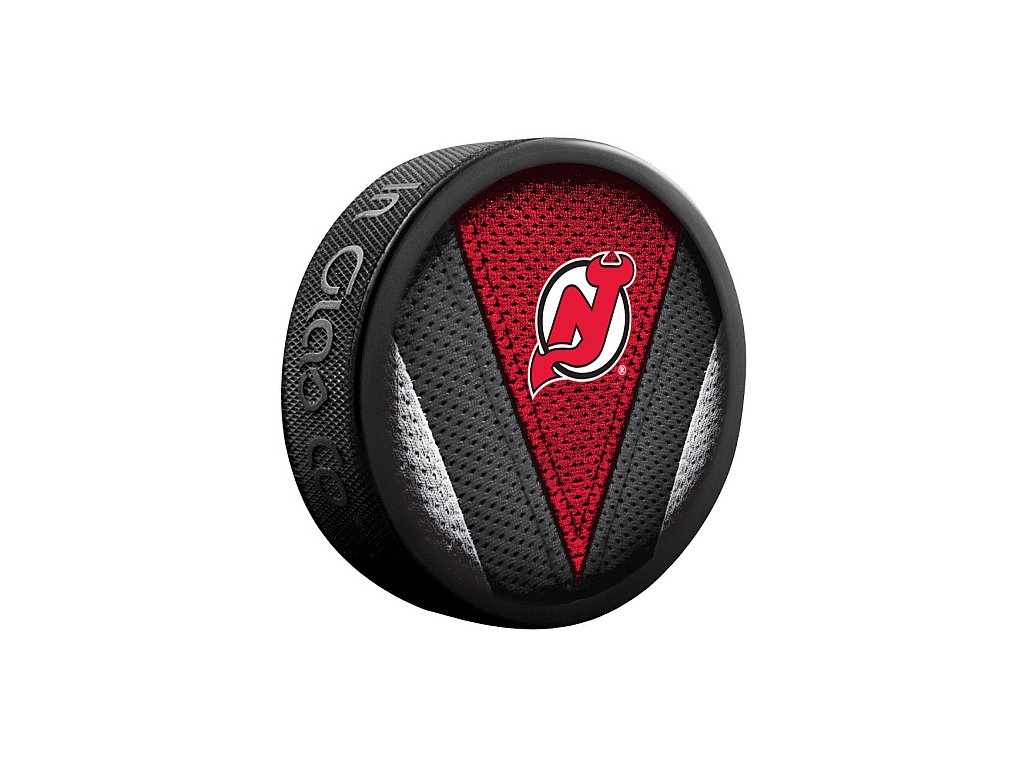 Puk New Jersey Devils Stitch