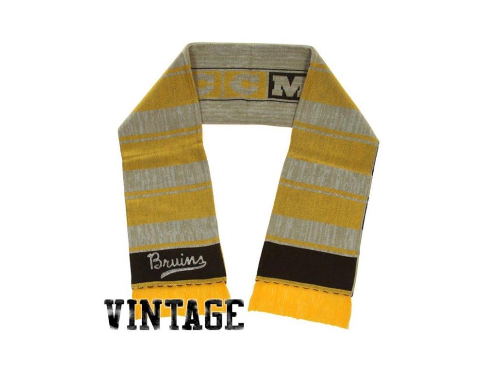 Šála - Vintage Icicle - Boston Bruins