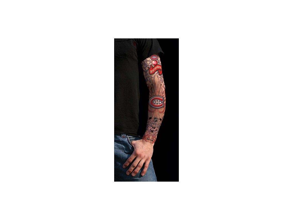 Tattoo rukáv - Montreal Canadiens