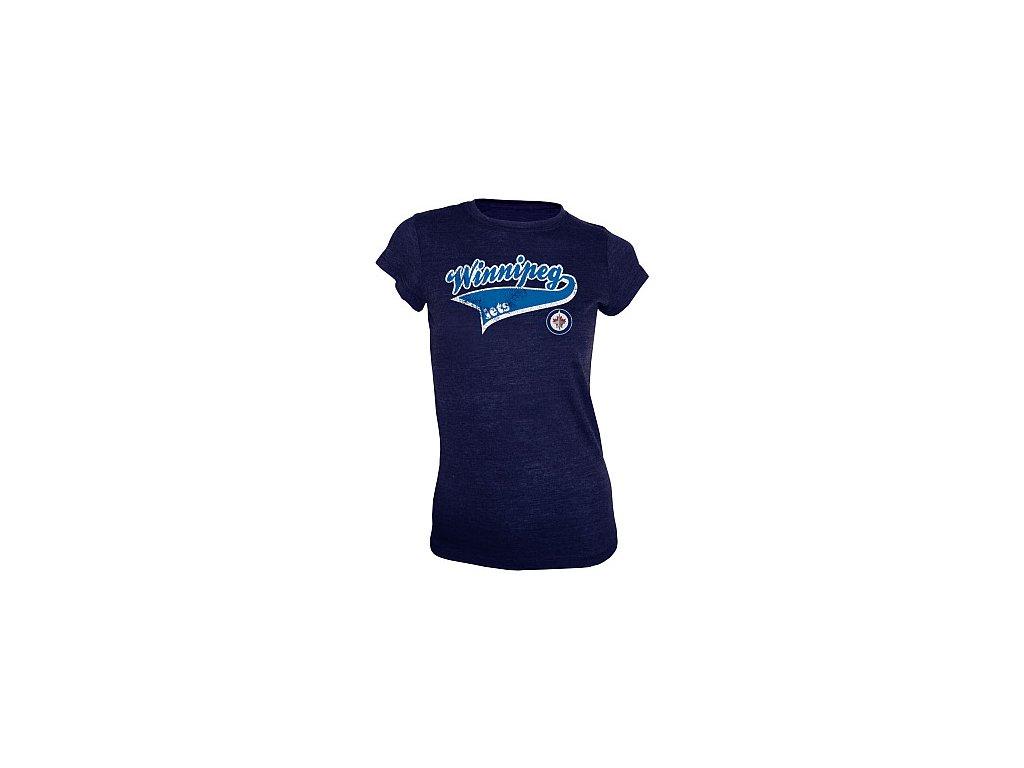 Top - Women's Ribbon Triblend - Winnipeg Jets