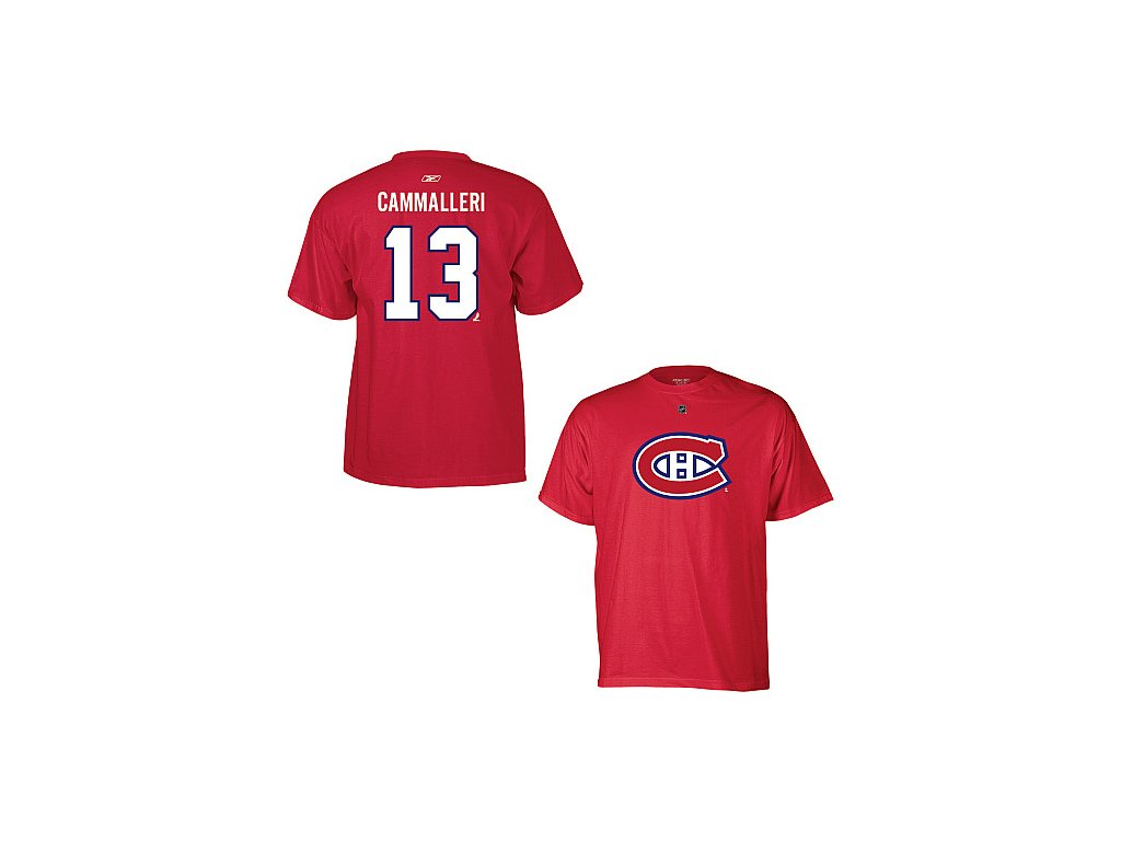 Tričko - #13 - Mike Cammalleri - Montreal Canadiens