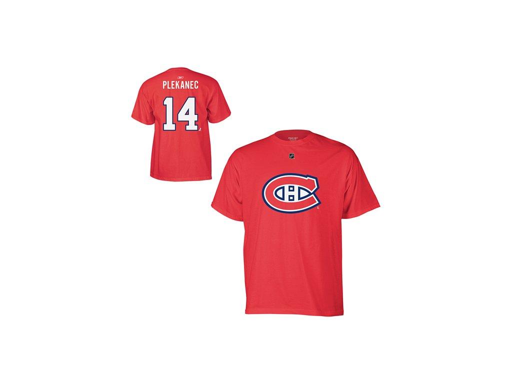 Tričko - #14 - Tomáš Plekanec - Montreal Canadiens