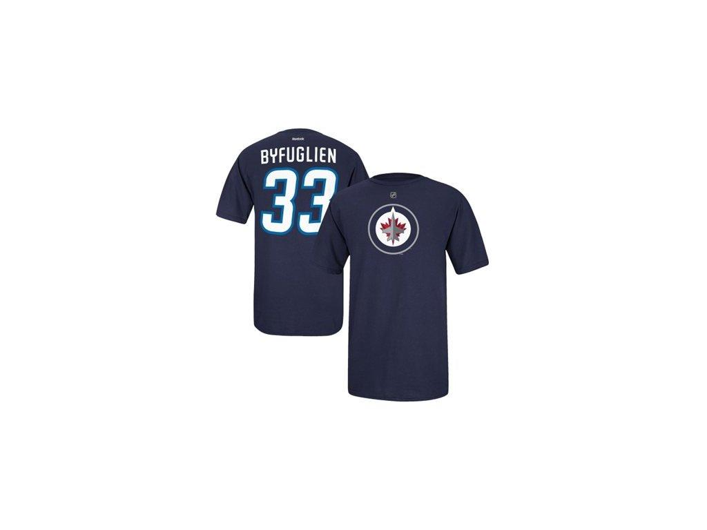 Tričko - #33 Dustin Byfuglien - Winnipeg Jets