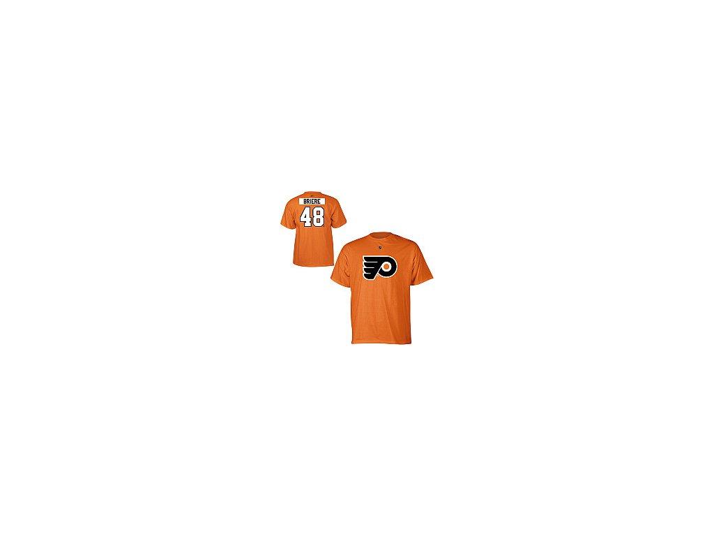 Tričko - #48 - Daniel Briere - Philadelphia Flyers - oranžové