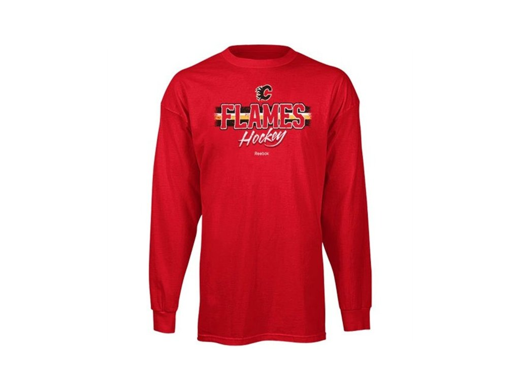 Tričko - Allegiance - Calgary Flames - dlouhý rukáv
