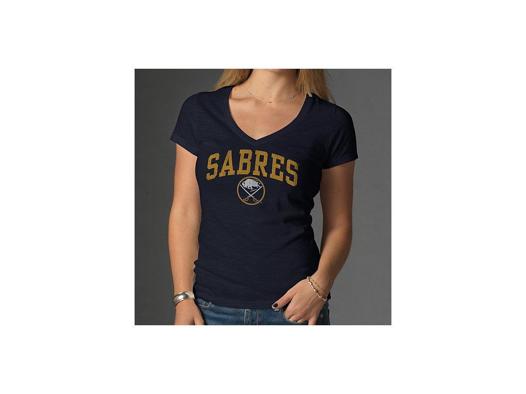 Tričko - Arch Scrum - Buffalo Sabres - dámské