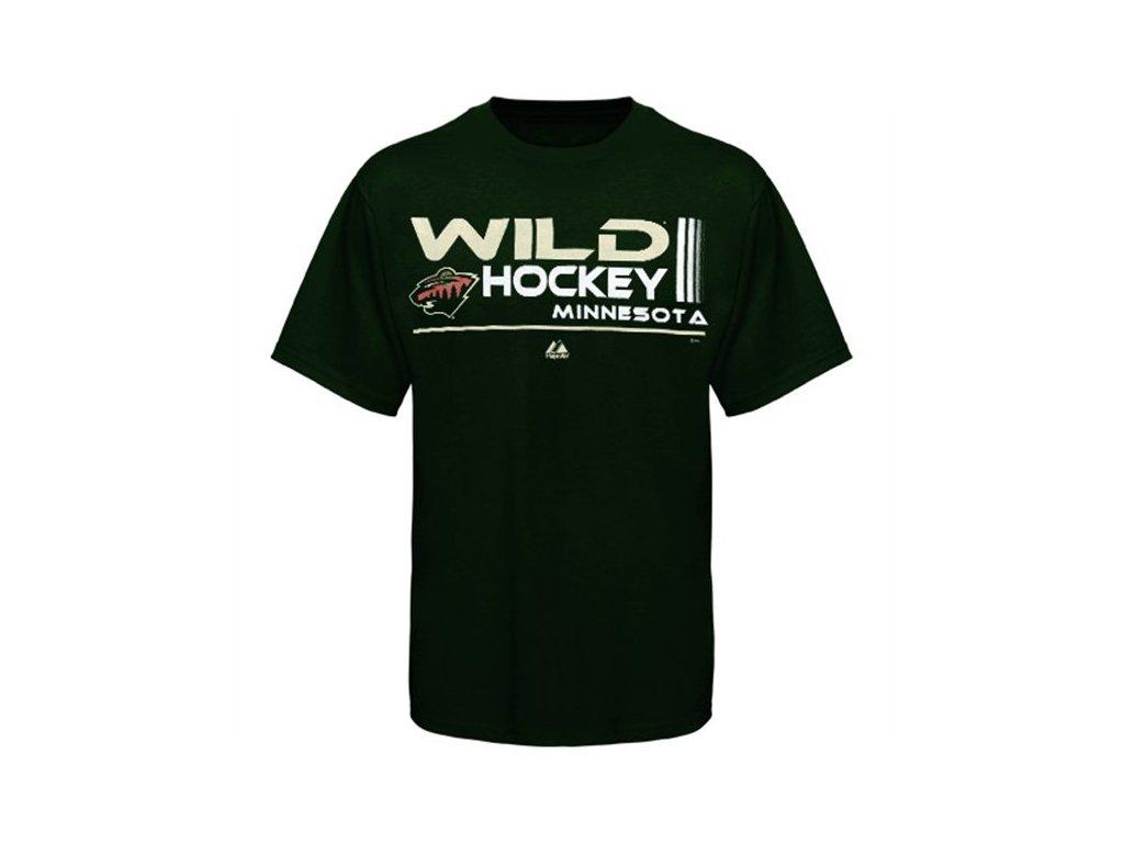 Tričko - Deflection - Minnesota Wild