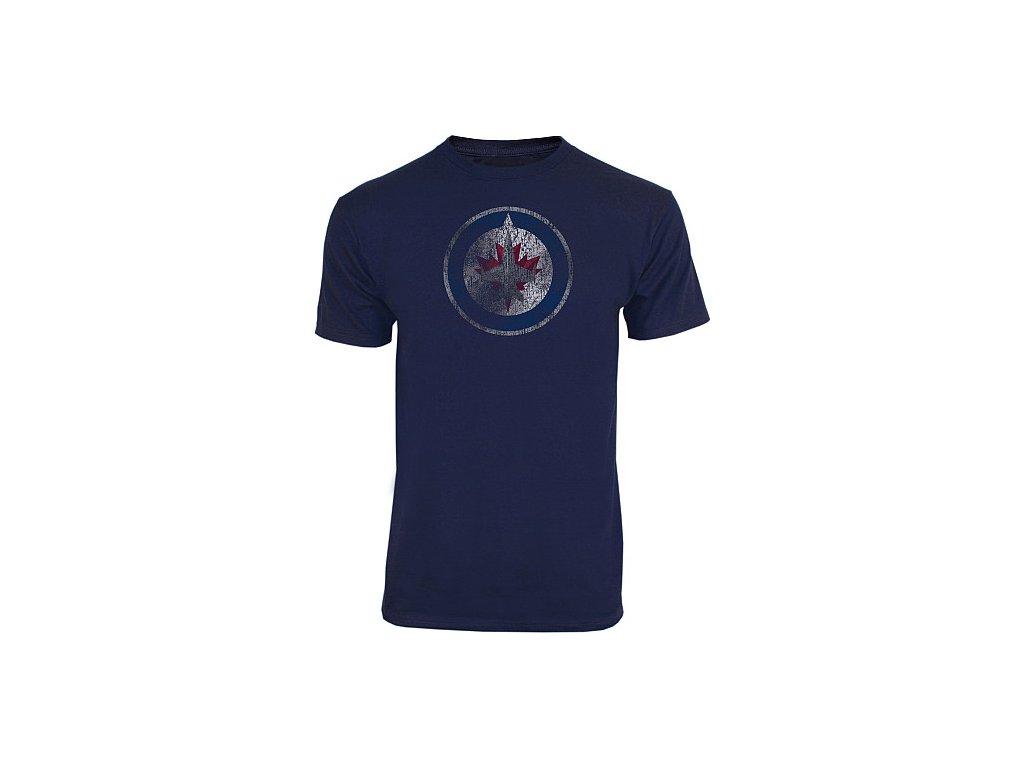 Tričko - Distressed Logo - Winnipeg Jets