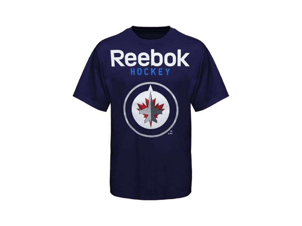 Tričko - Faceoff Primary Logo - Winnipeg Jets