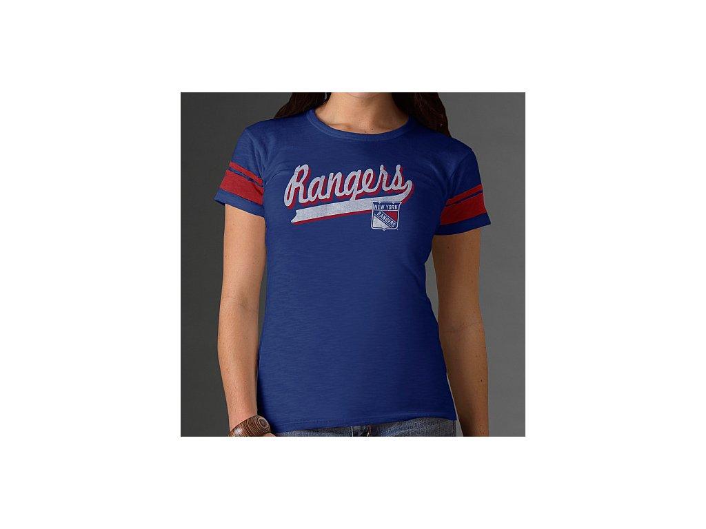 Tričko - Game Time - New York Rangers - dámské