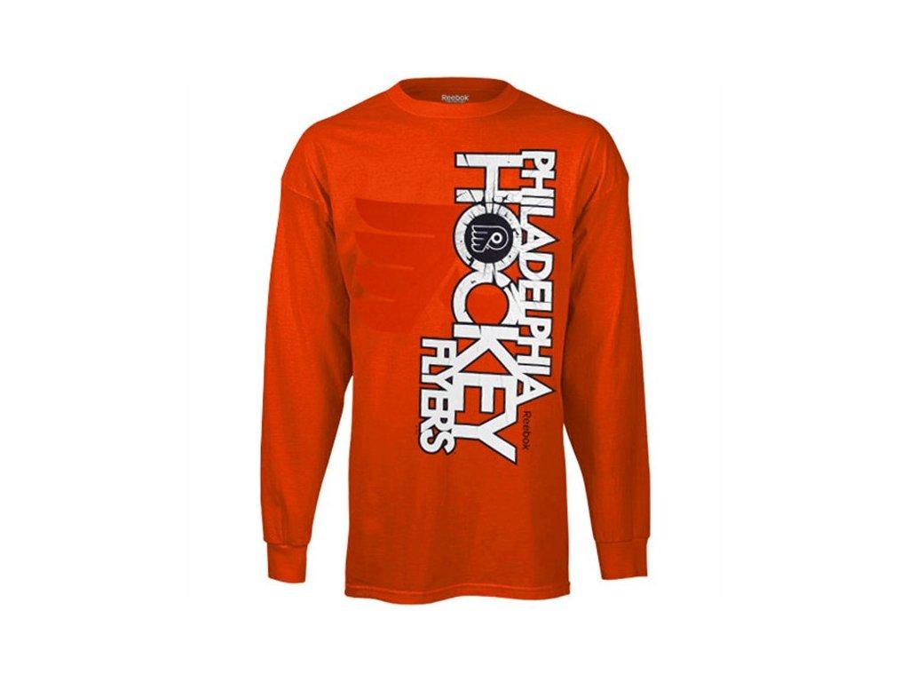 Tričko - Glacier - Philadelphia Flyers - dlouhý rukáv