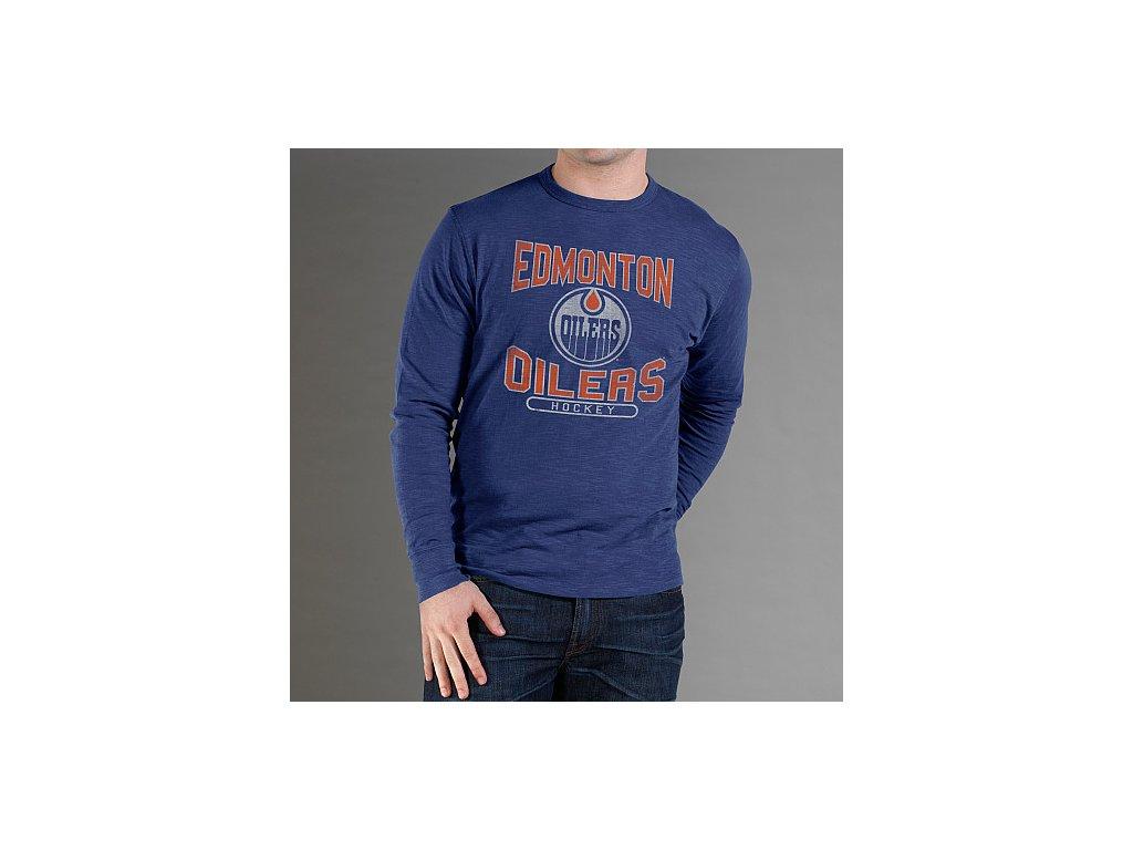 Tričko - Logo Scrum - Edmonton Oilers