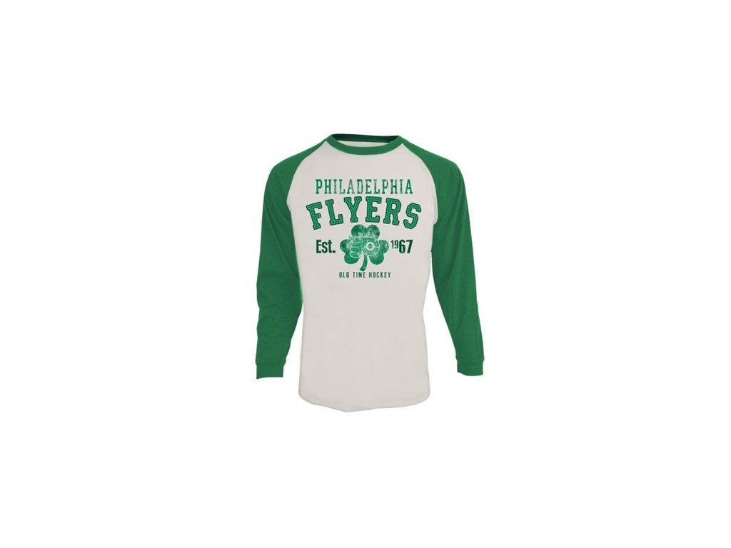 Tričko - Philadelphia Flyers St. Patricks Ballenger - Dlouhý rukáv