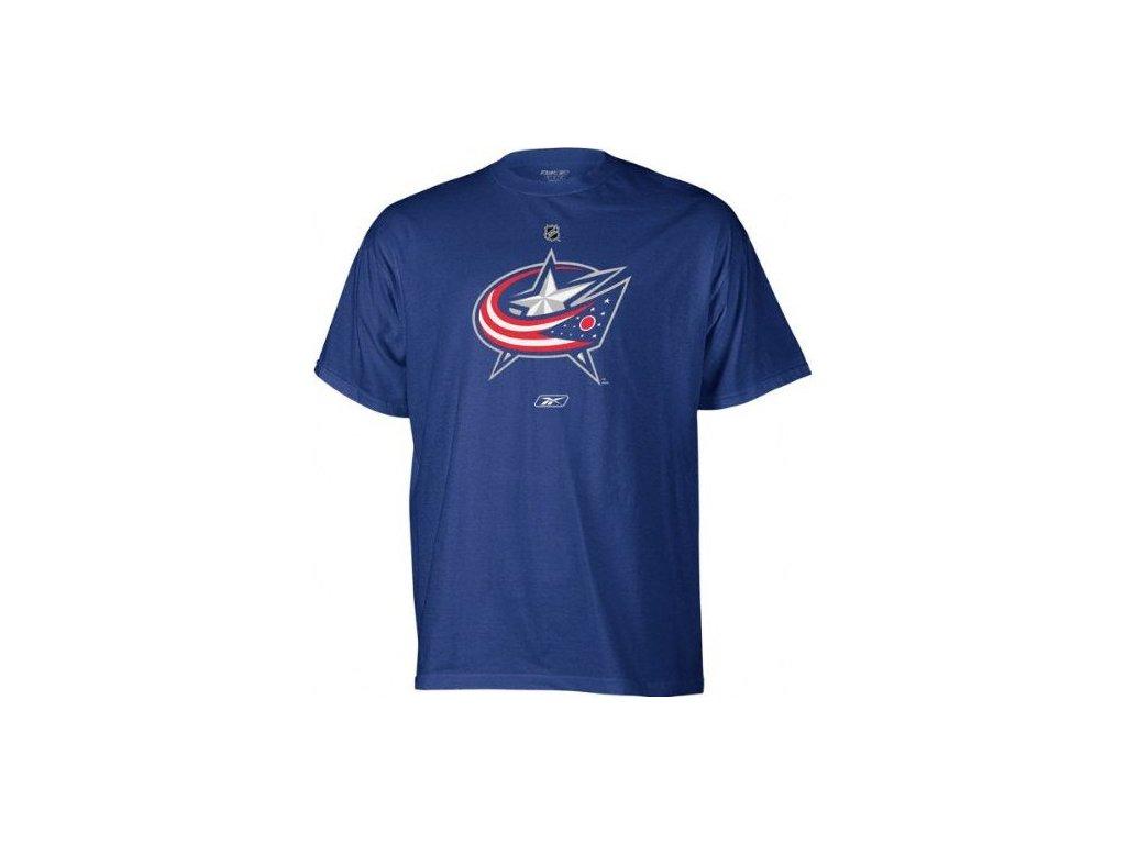Tričko - Primary Logo - Columbus Blue Jackets - modré