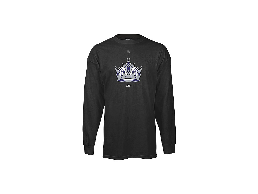 Tričko - Primary Logo - Los Angeles Kings (alternate) - dlouhý rukáv