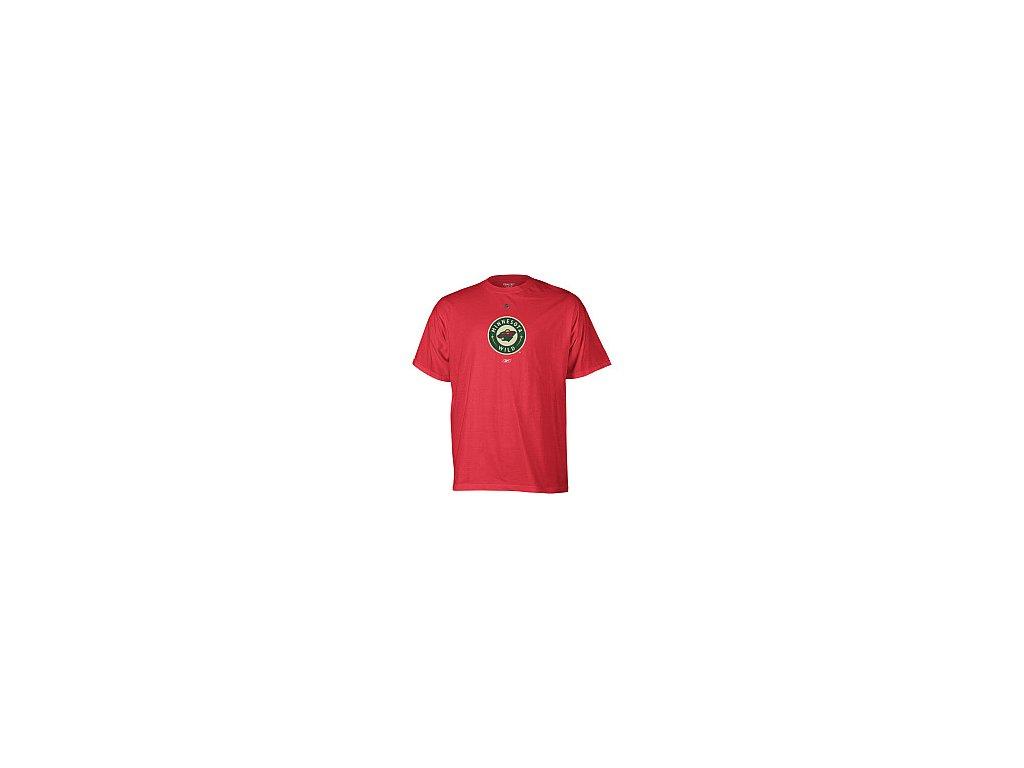Tričko - Primary Logo - Minnesota Wild - červené