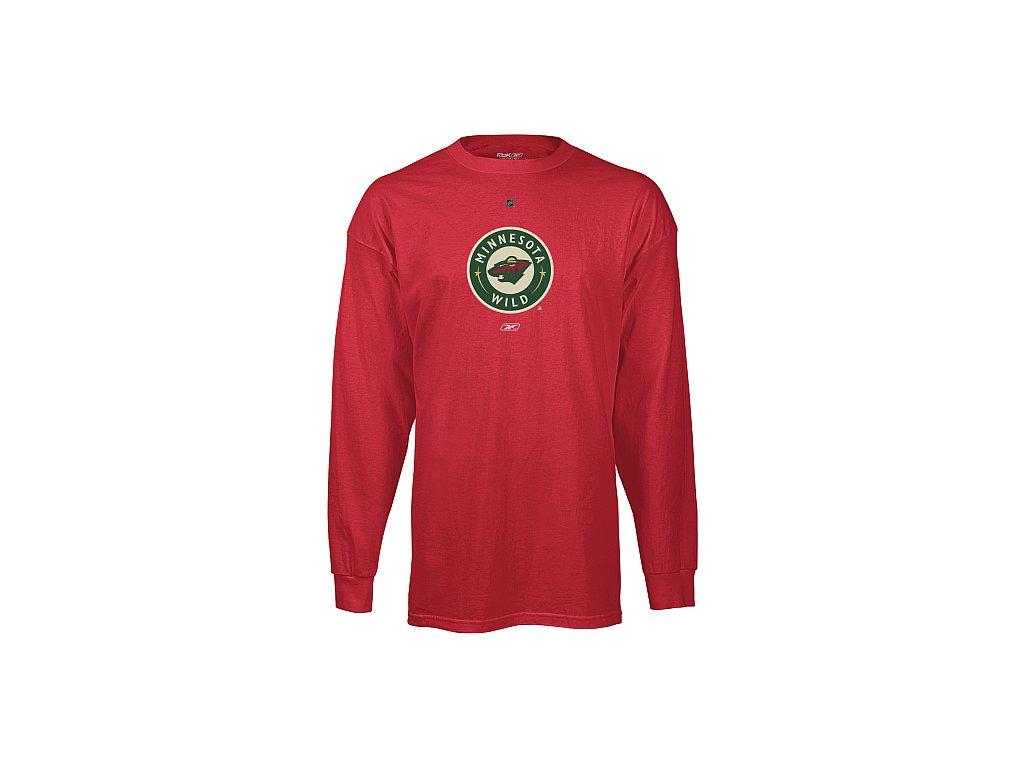 Tričko - Primary Logo - Minnesota Wild - dlouhý rukáv