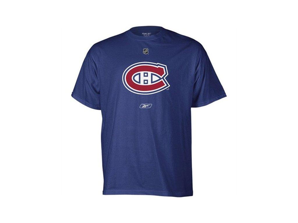 Tričko - Primary Logo - Montreal Canadiens - tmavě modré