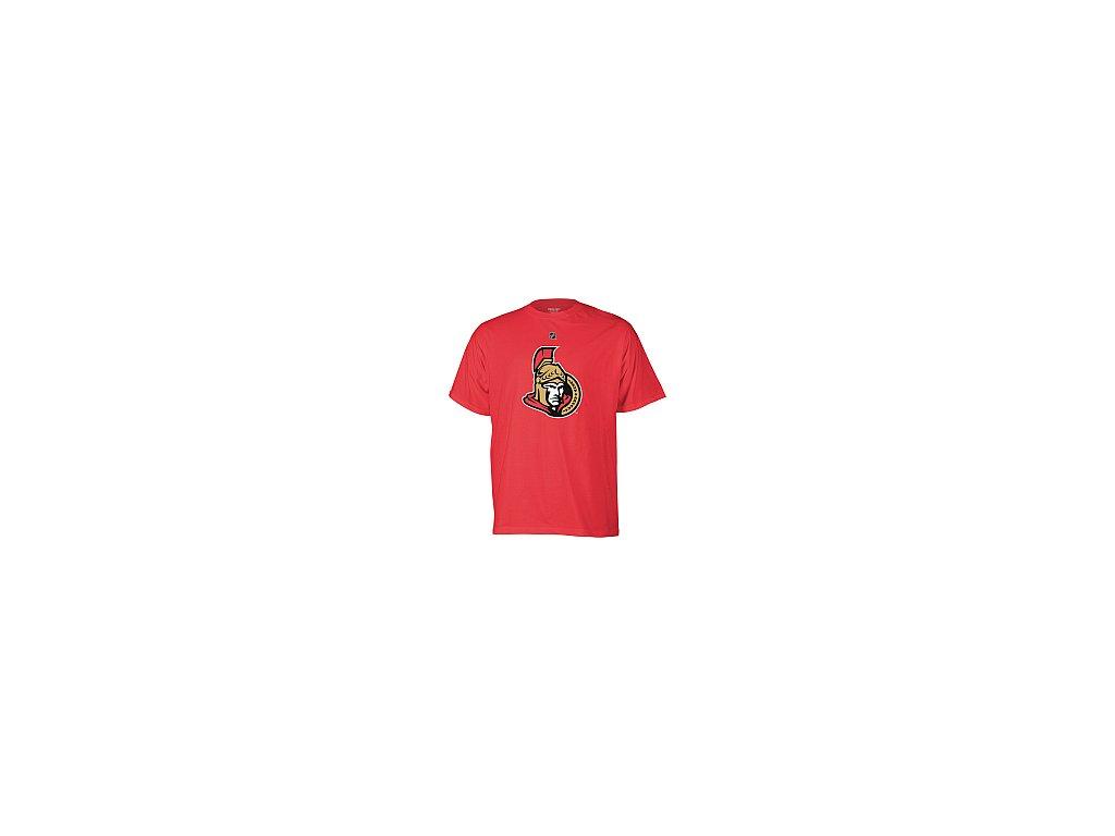 Tričko - Primary Logo - Ottawa Senators - červené