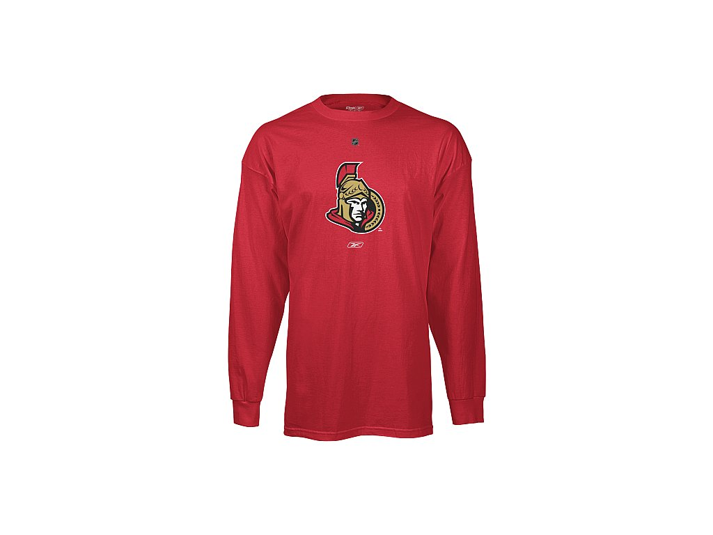 Tričko - Primary Logo - Ottawa Senators - dlouhý rukáv