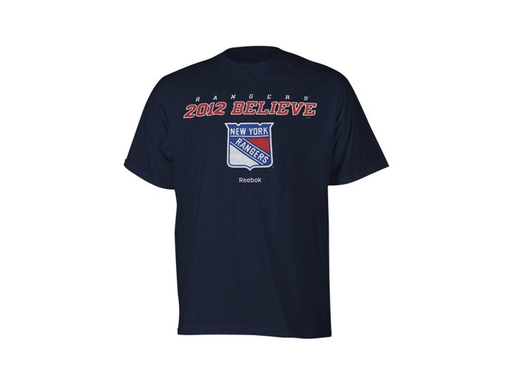 Tričko - Team Believe - New York Rangers