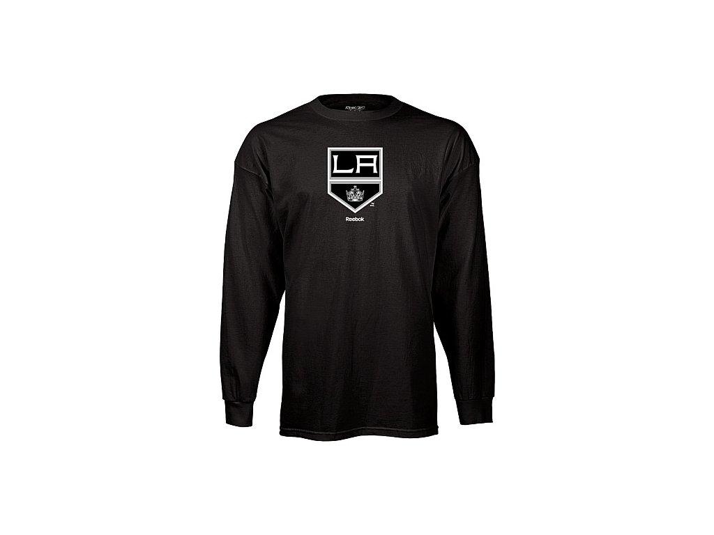 Tričko - Third Logo - Los Angeles Kings - dlouhý rukáv