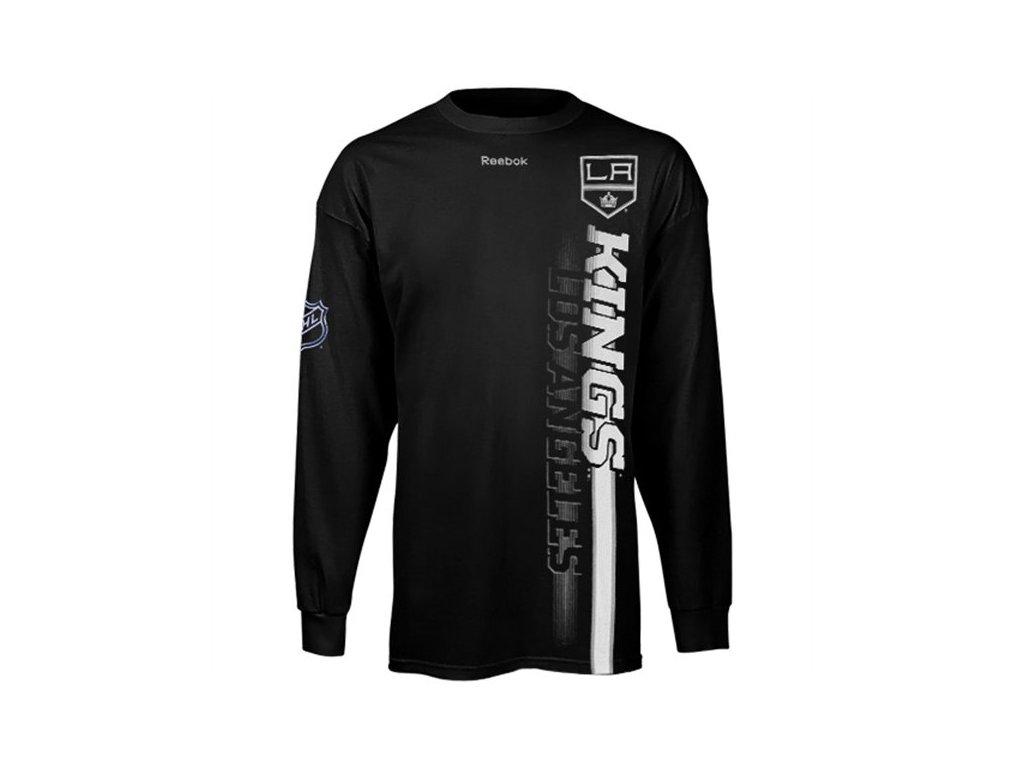 Tričko - Vertices Team - Los Angeles Kings - dlouhý rukáv