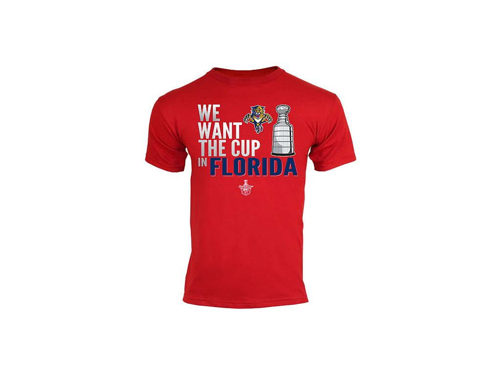 Tričko - Want The Cup - Florida Panthers