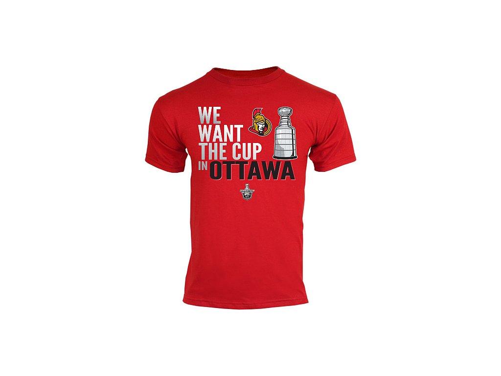 Tričko - Want The Cup - Ottawa Senators