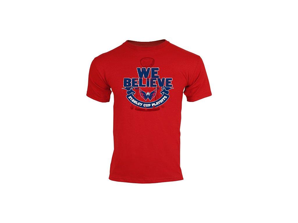 Tričko - We Believe NHL Playoffs - Washington Capitals