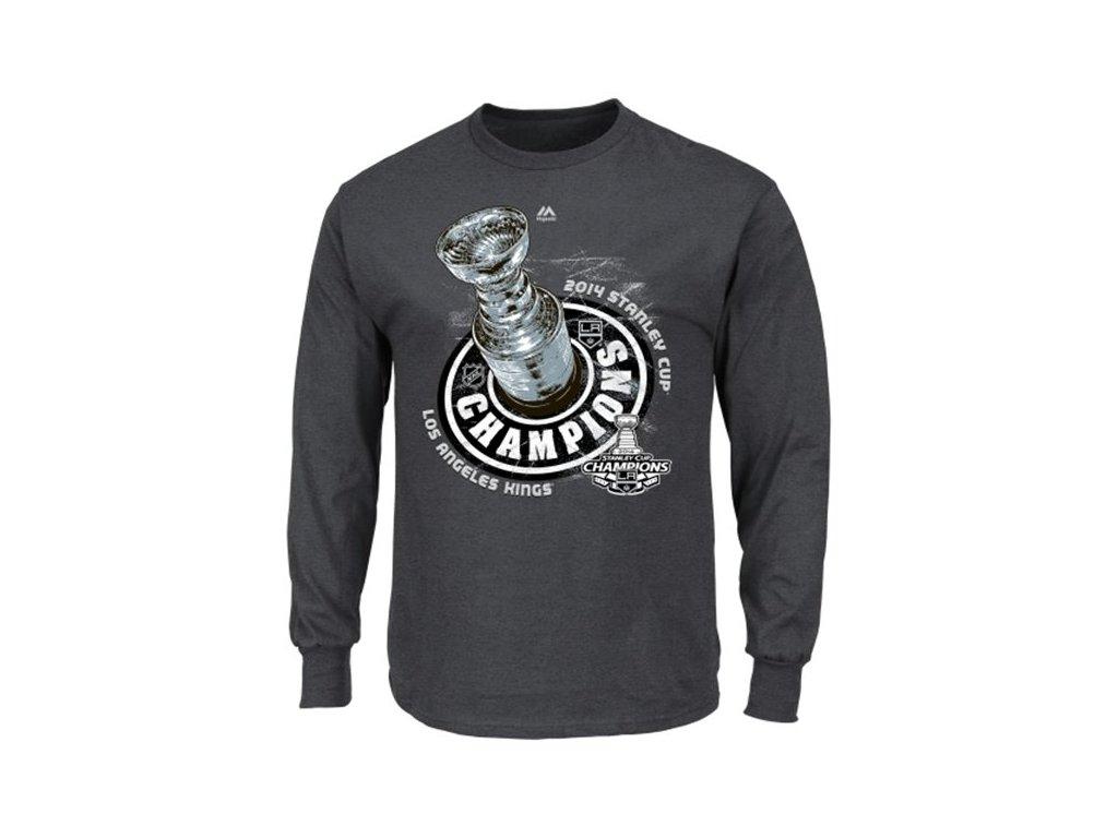 Tričko Los Angeles Kings 2014 Stanley Cup Locker Room - dlouhý rukáv