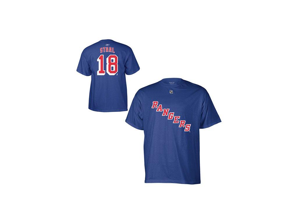 Tričko Marc Staal #18 New York Rangers