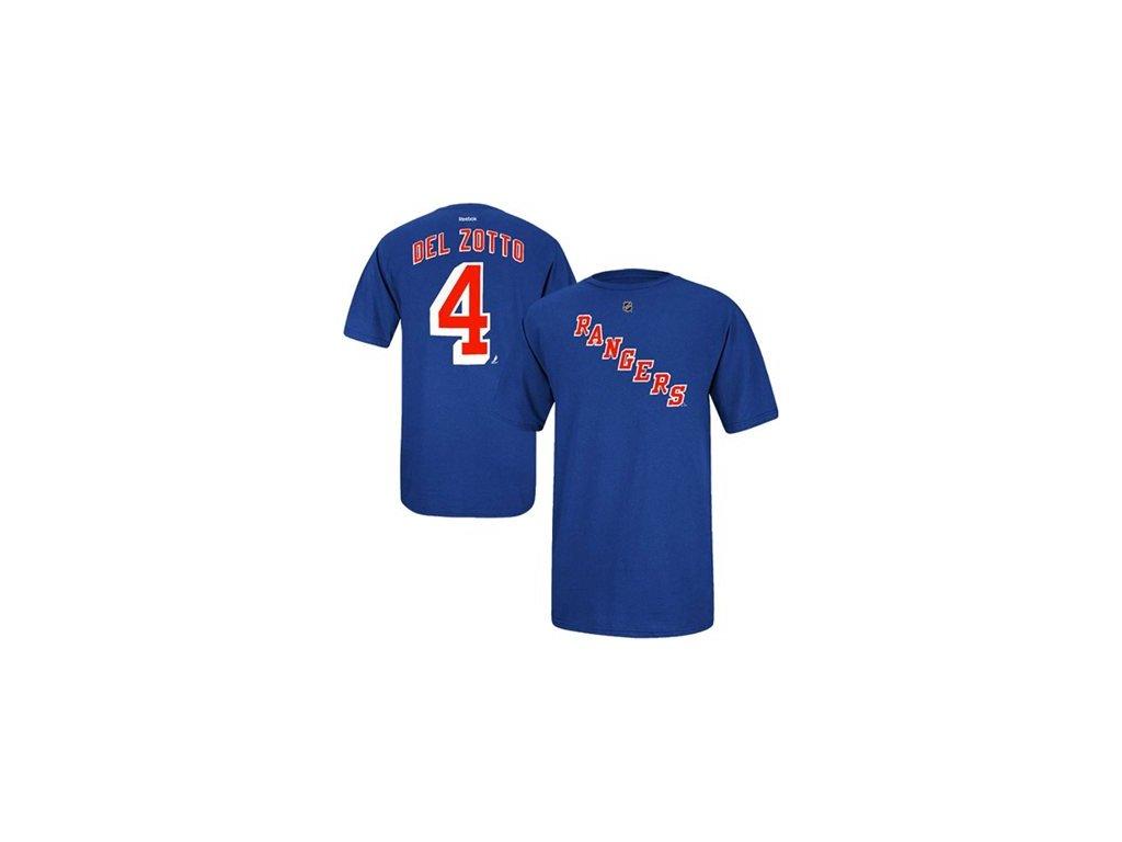Tričko Michael Del Zotto #4 New York Rangers