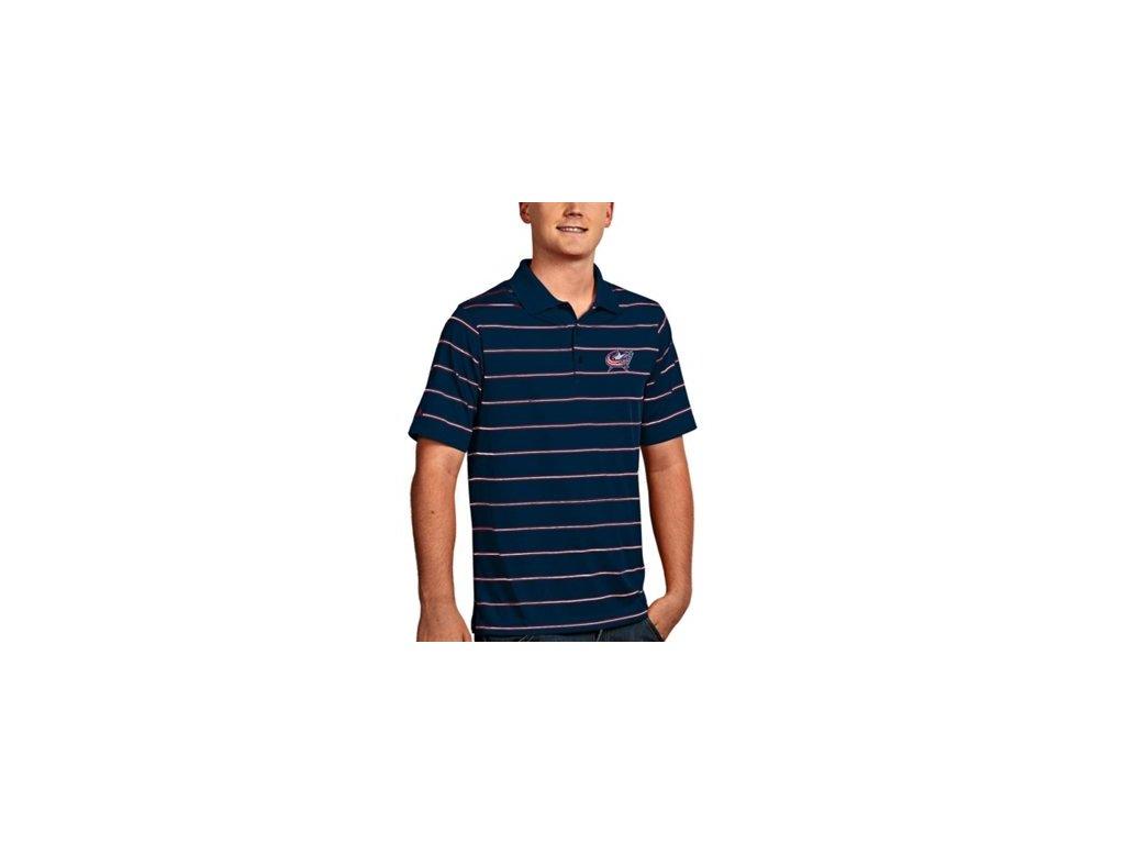 Tričko New Columbus Blue Jackets Deluxe Polo