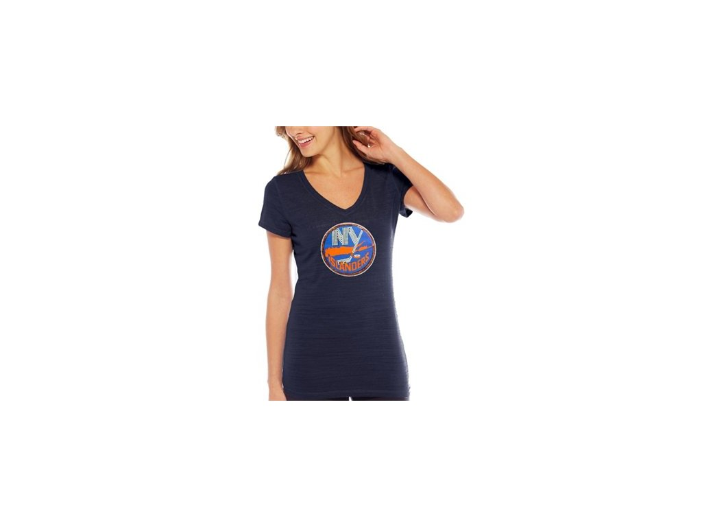 Tričko New York Islanders Sequin Logo - dámské