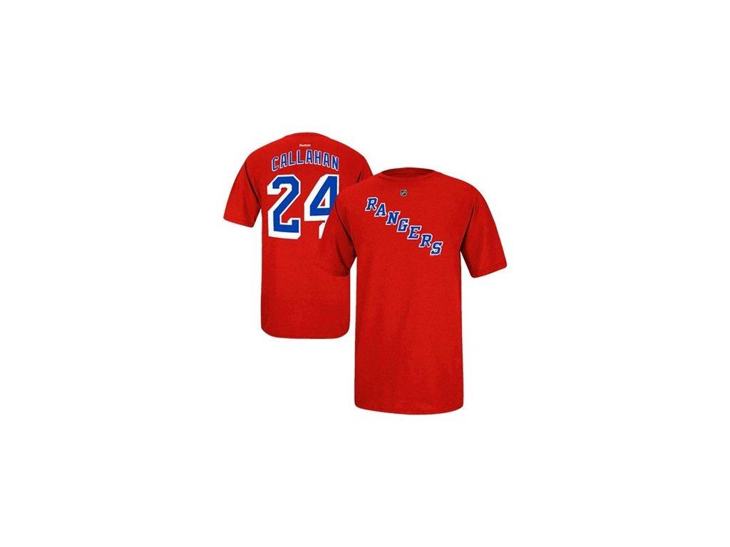 Tričko Ryan Callahan #24 New York Rangers - červené