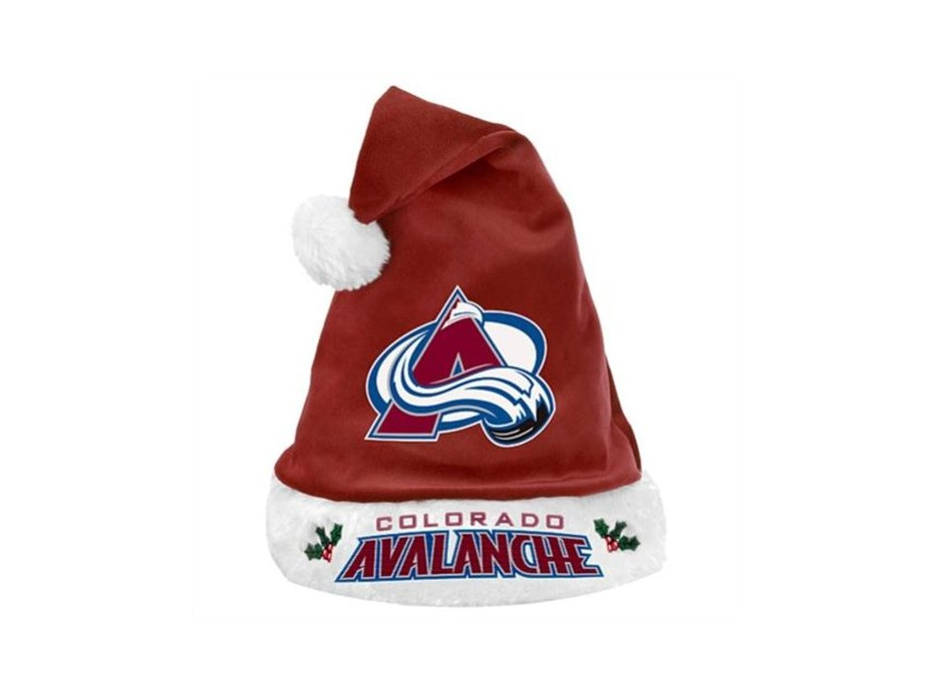 Vánoční čepice Colorado Avalanche