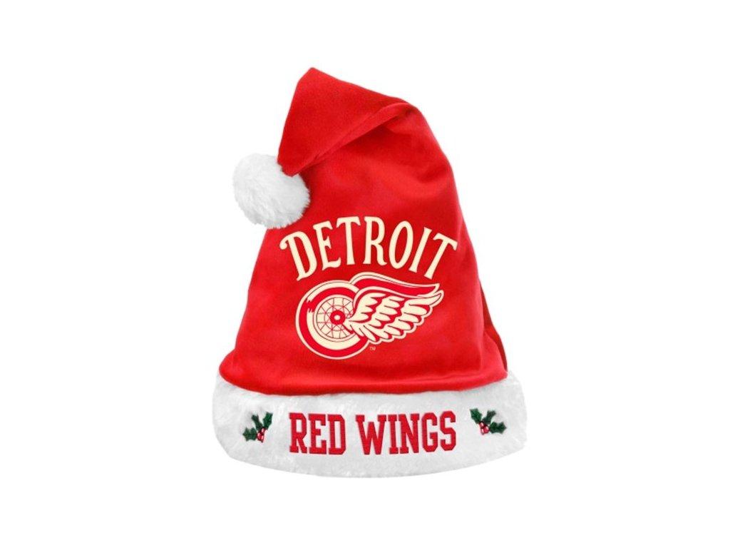 Vánoční čepice Detroit Red Wings