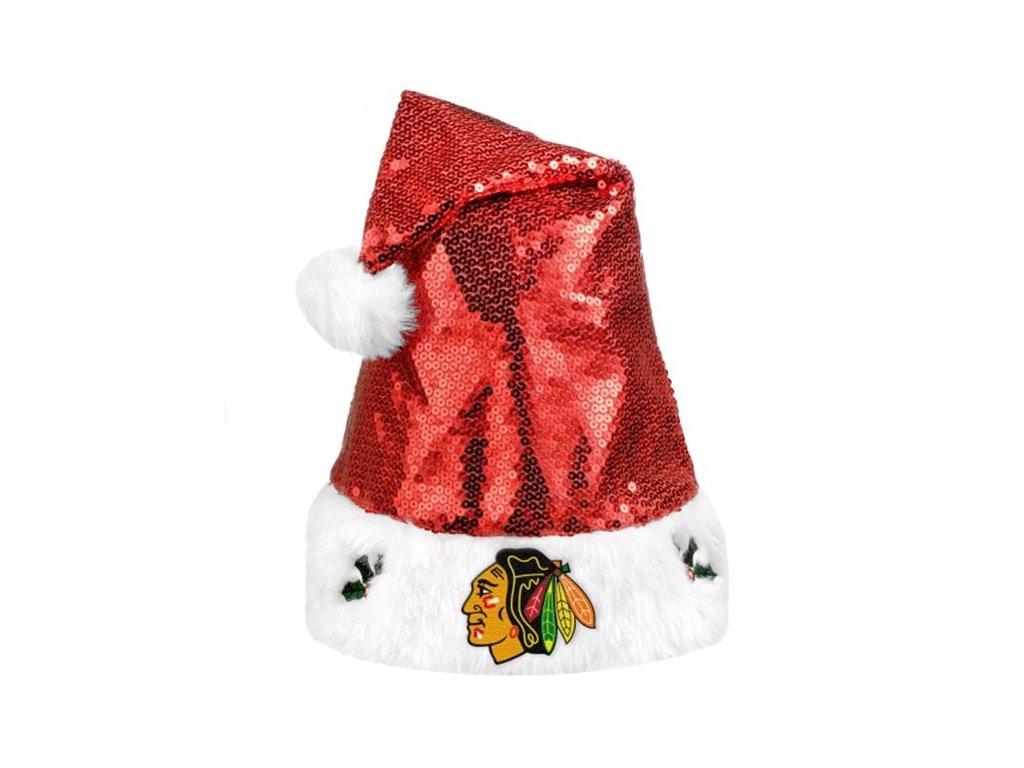Vánoční čepice Chicago Blackhawks 2