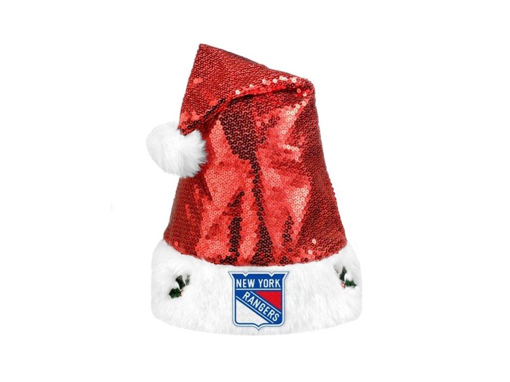 Vánoční čepice New York Rangers 2