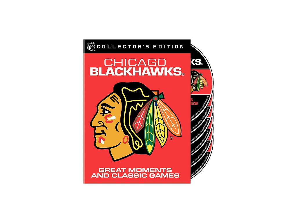 Warner Home Video Chicago Blackhawks Great Moments and Classic Games DVD Set
