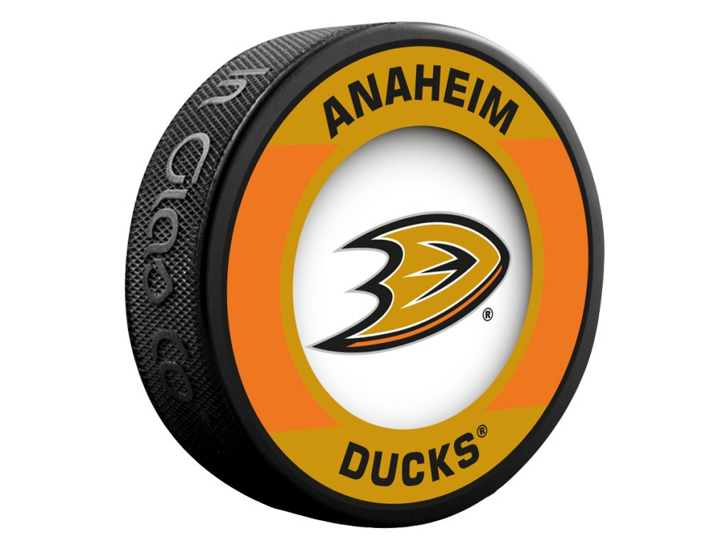 Puk Anaheim Ducks Retro