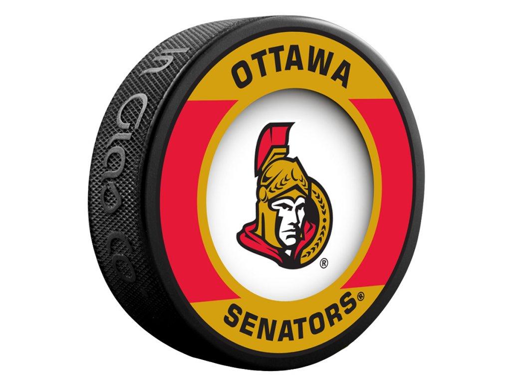 Puk Ottawa Senators Retro