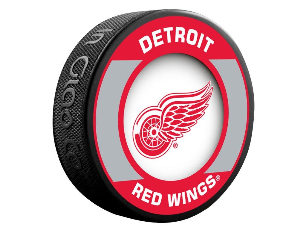 Puk Detroit Red Wings Retro