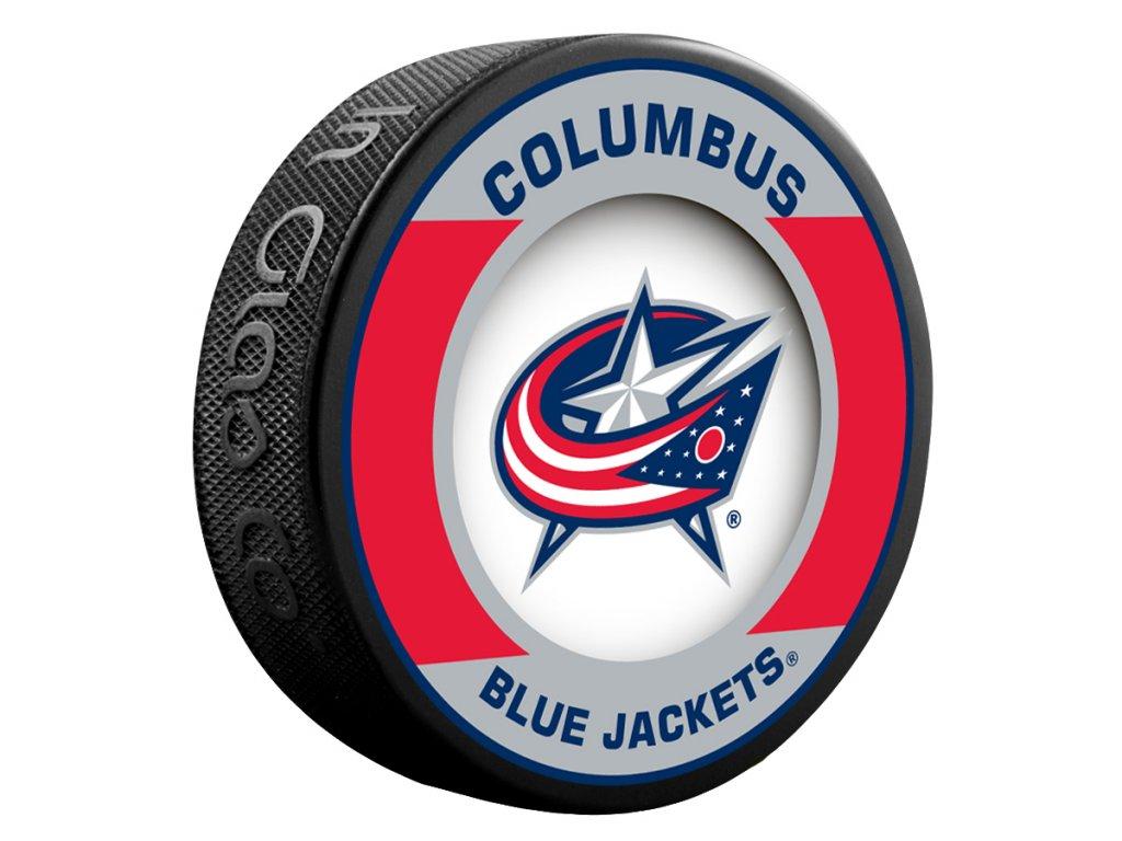 Puk Columbus Blue Jackets Retro