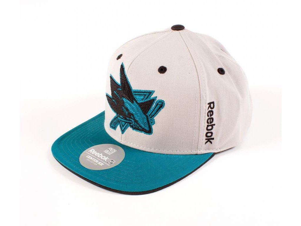 d3fed5d3c9e Kšiltovka San Jose Sharks Center Ice Snapback - Fanda-NHL.cz