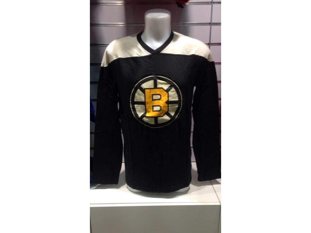 Tričko Boston Bruins Long Sleeve Crew 15