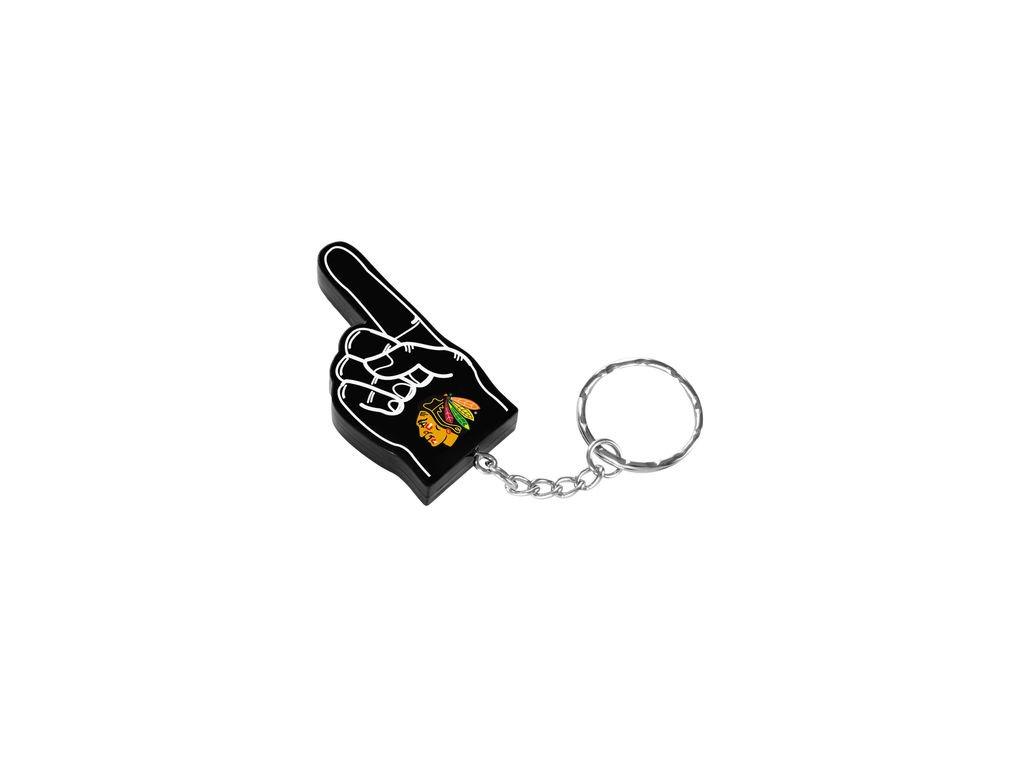 Přívěšek na klíče Chicago Blackhawks Foam Finger